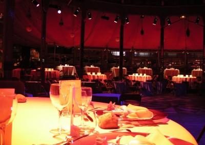 dîner au cabaret sauvage