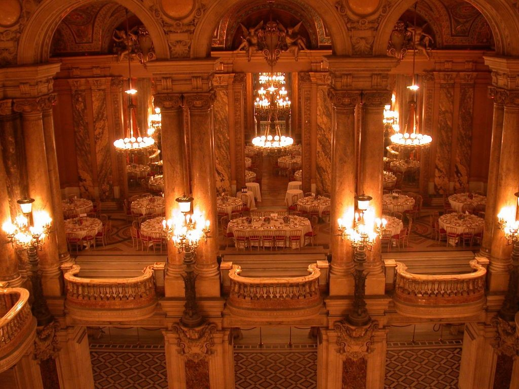 dîner à l'Opéra