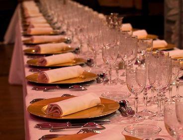Organisation de déjeuners et de dîners d'entreprise